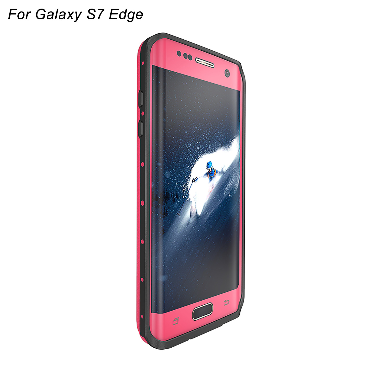 redpepper waterproof dirt proof rubber case cover for samsung galaxy s7 s7 edge. Black Bedroom Furniture Sets. Home Design Ideas