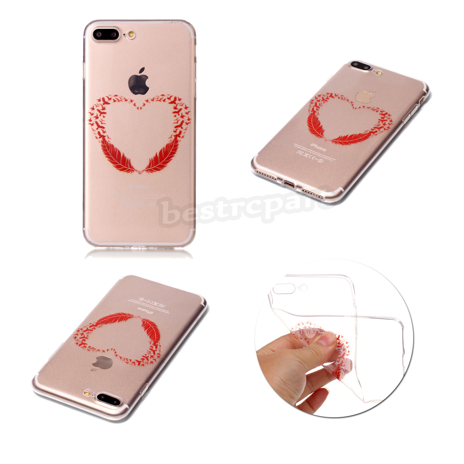 Squishy Case For Iphone 5s : Rubber Pattern Soft TPU Silicone Back Case Cover For iPhone 5S 6 6S 7 Plus SE eBay