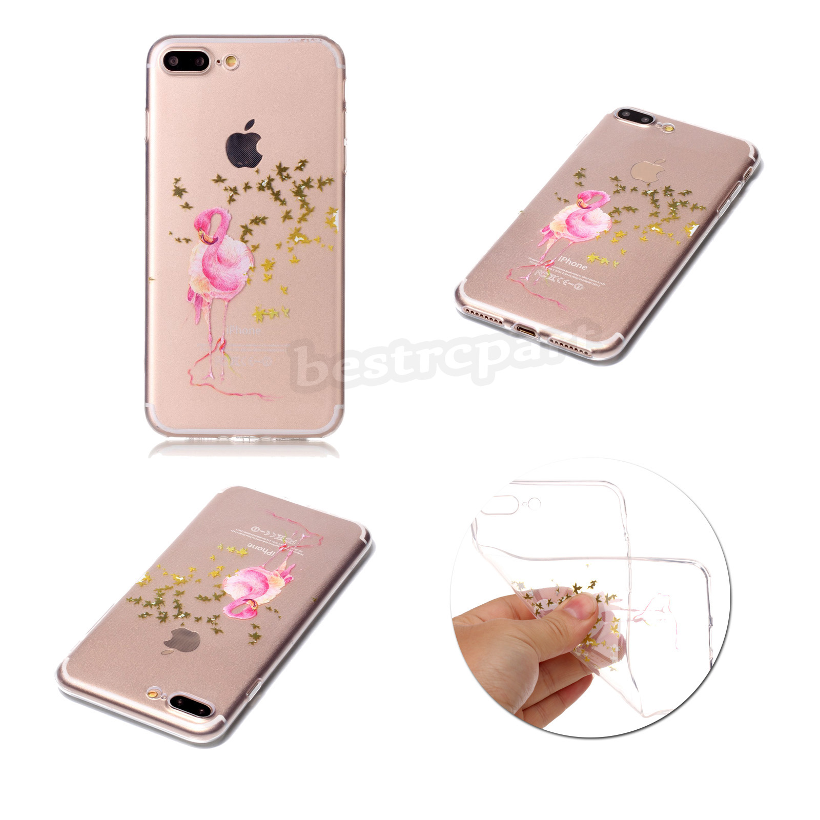 Rubber Pattern Soft TPU Silicone Back Case Cover For iPhone 5S 6 6S 7 Plus SE eBay