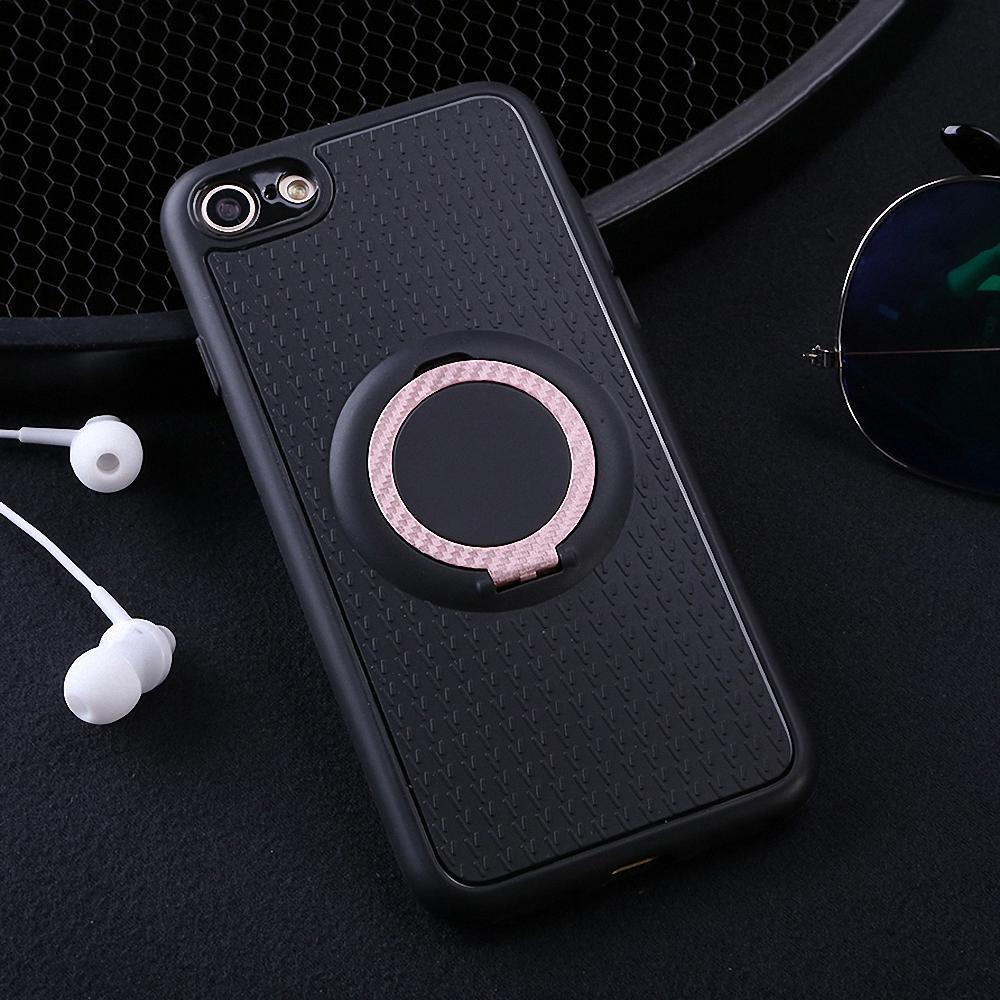 iphone 5 not ringing magnetic ring stand shockproof hybrid rubber cover 14546