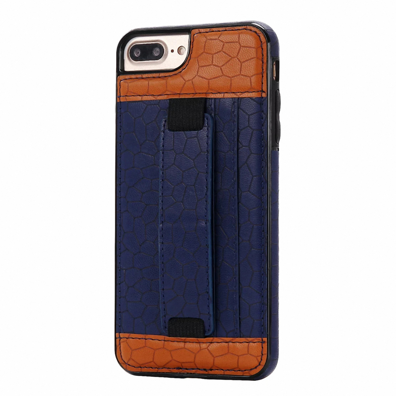 Luxury Leather With Hand Strap Holder Protective Case Cover For iPhone 7/7 Plus | eBay