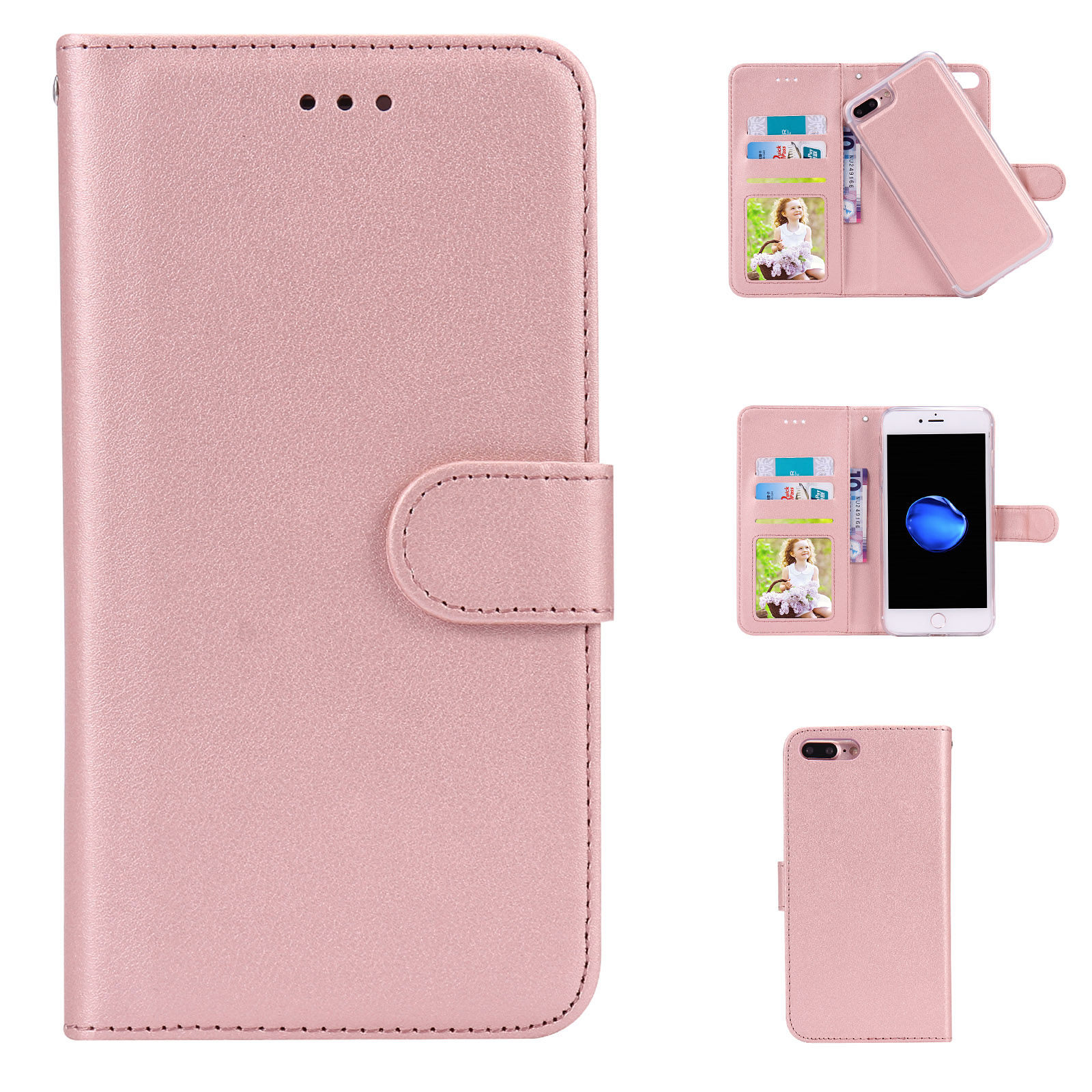 Iphone X Wallet Case Magnetic