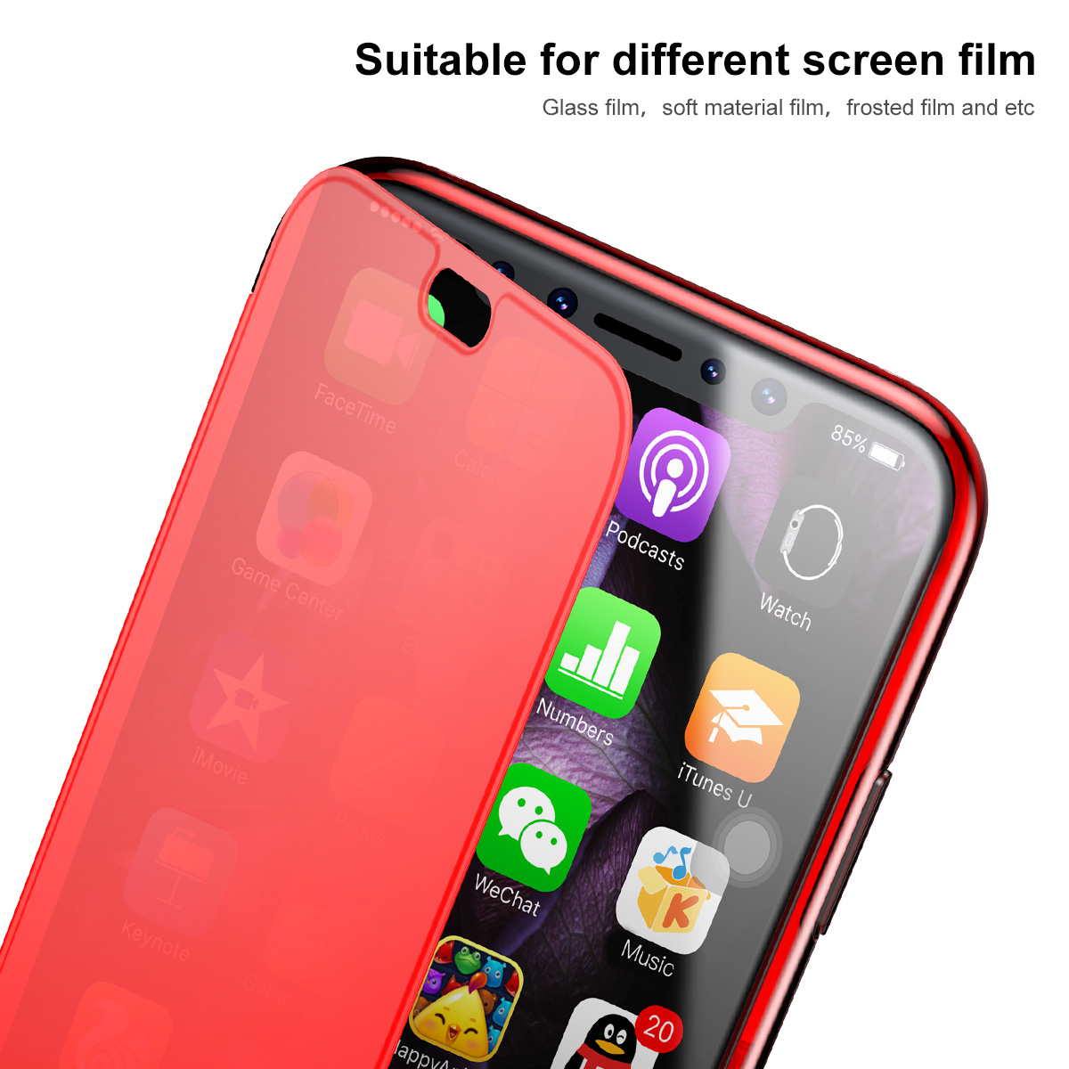 how to flip screen on iphone slim skin 360 protective clear window view touch screen 6791