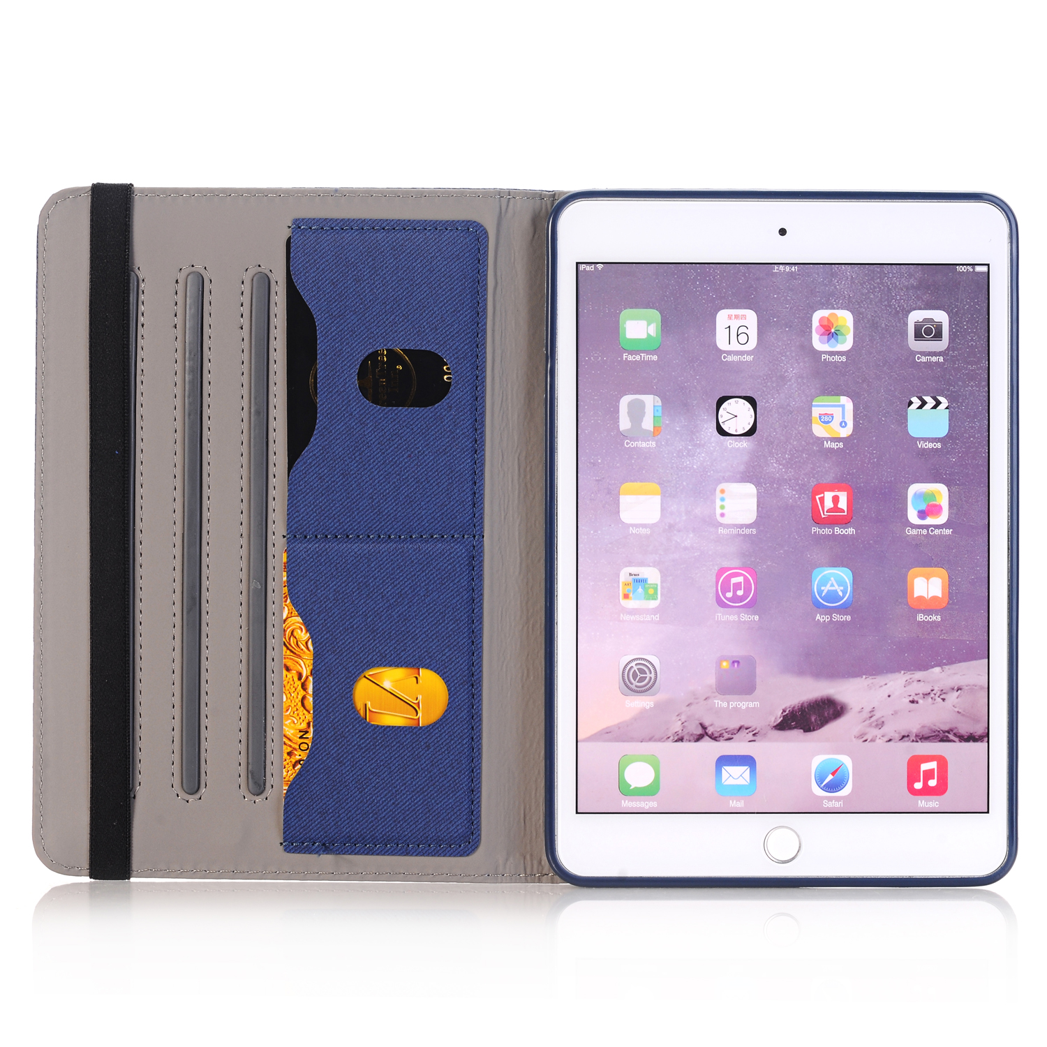 For Apple iPad Mini 2 3 4 iPad Air 360 Rotating Leather ...