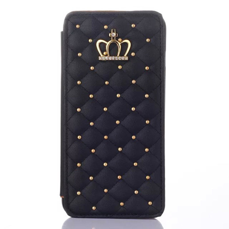 Iphone Flip Wallet Leather Case