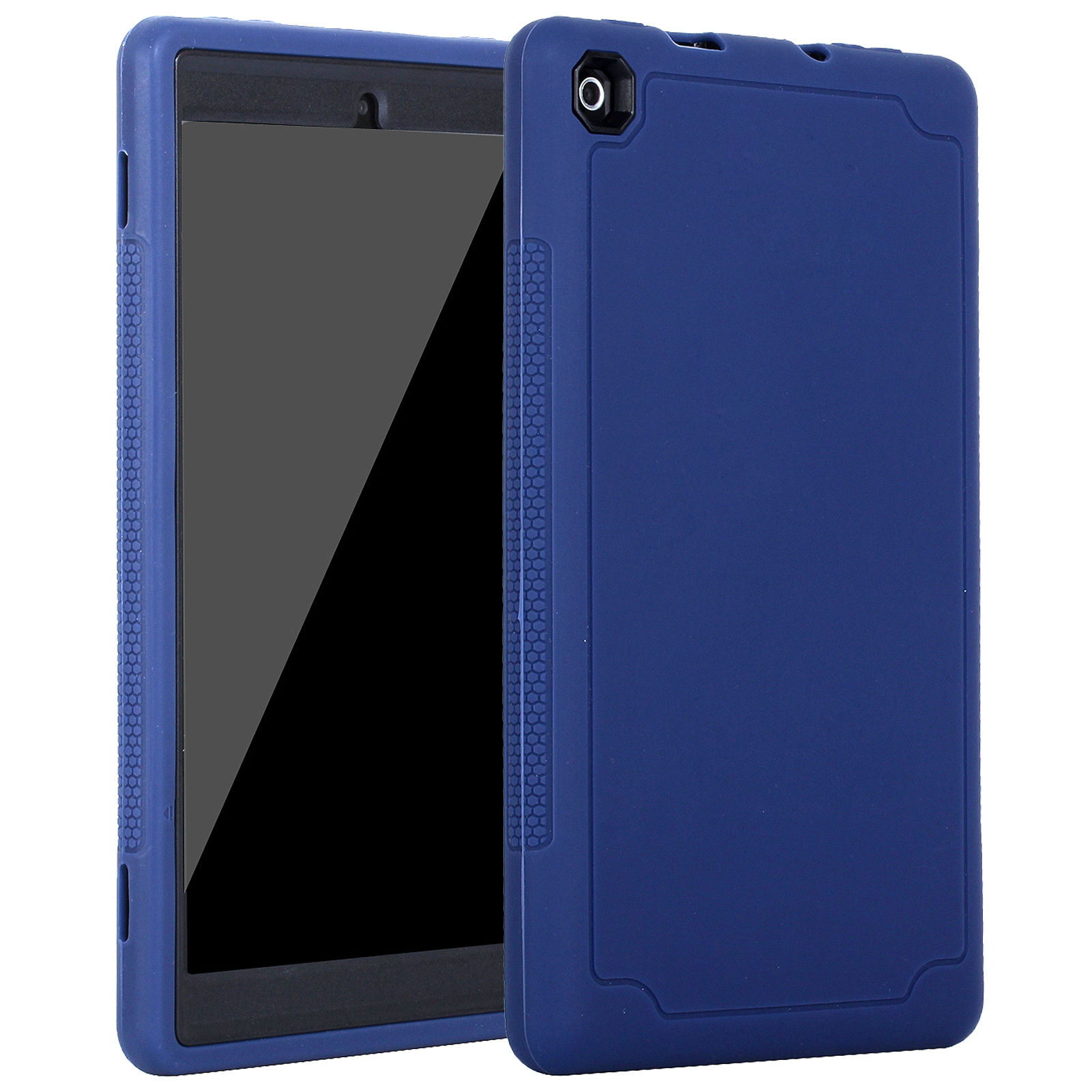 Shockproof Heavy Duty Hybrid Armor Case Cover For Amazon
