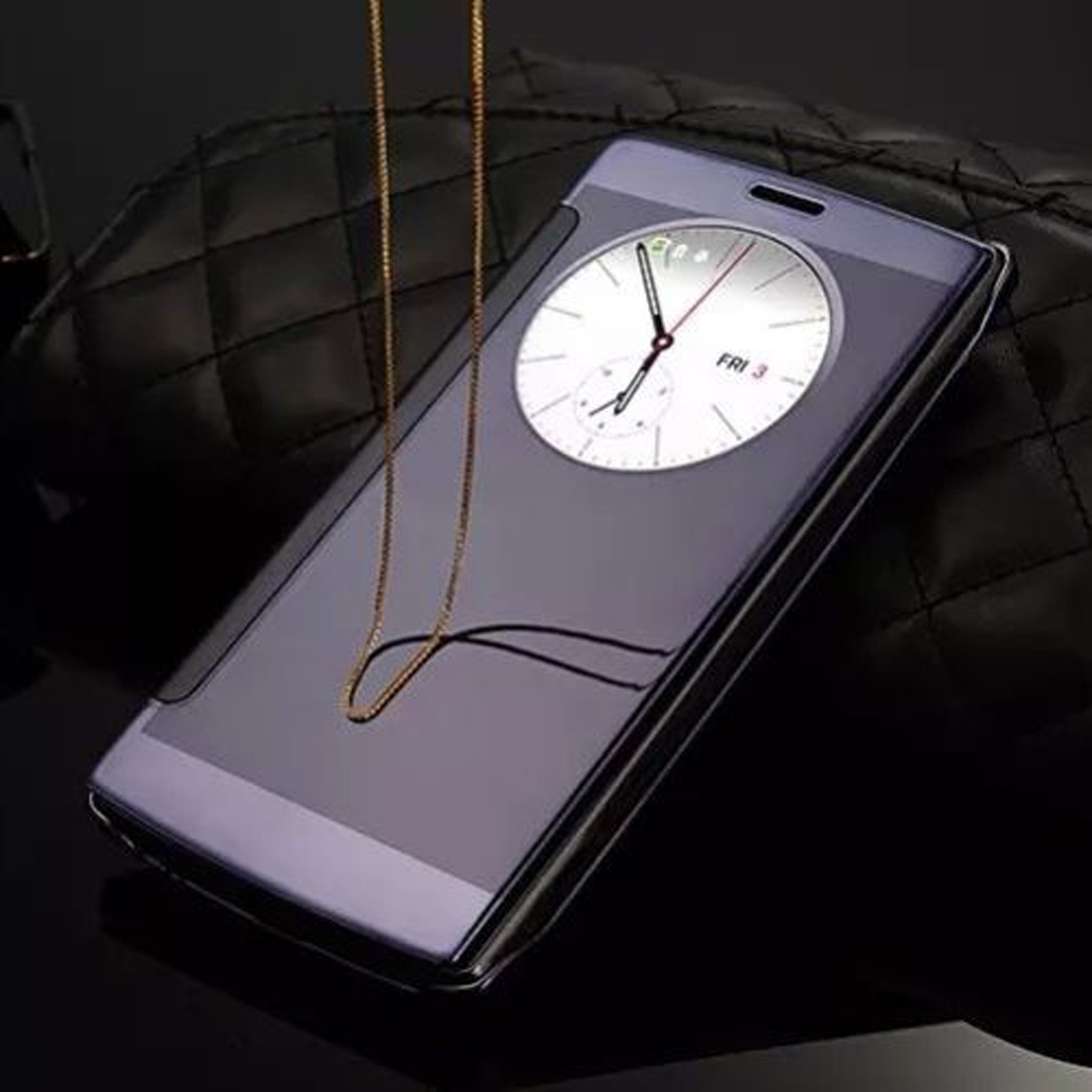 ... Newest-Luxury-Ultra-thin-Mirror-Flip-Smart-View-PU-Leather-Case-Cover