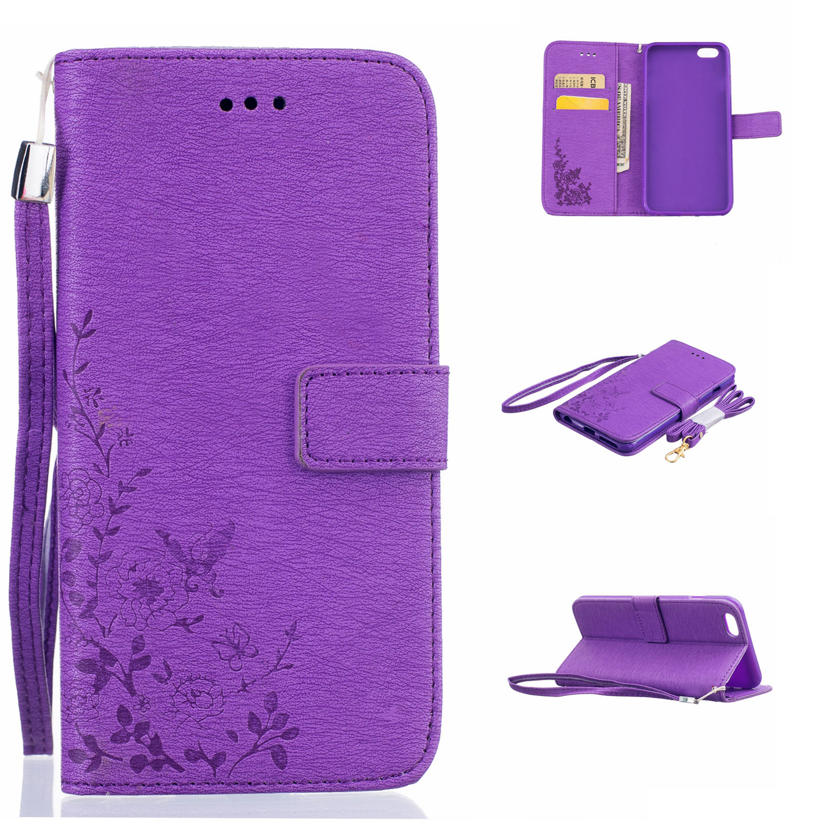 iphone 6 folio case butterfly