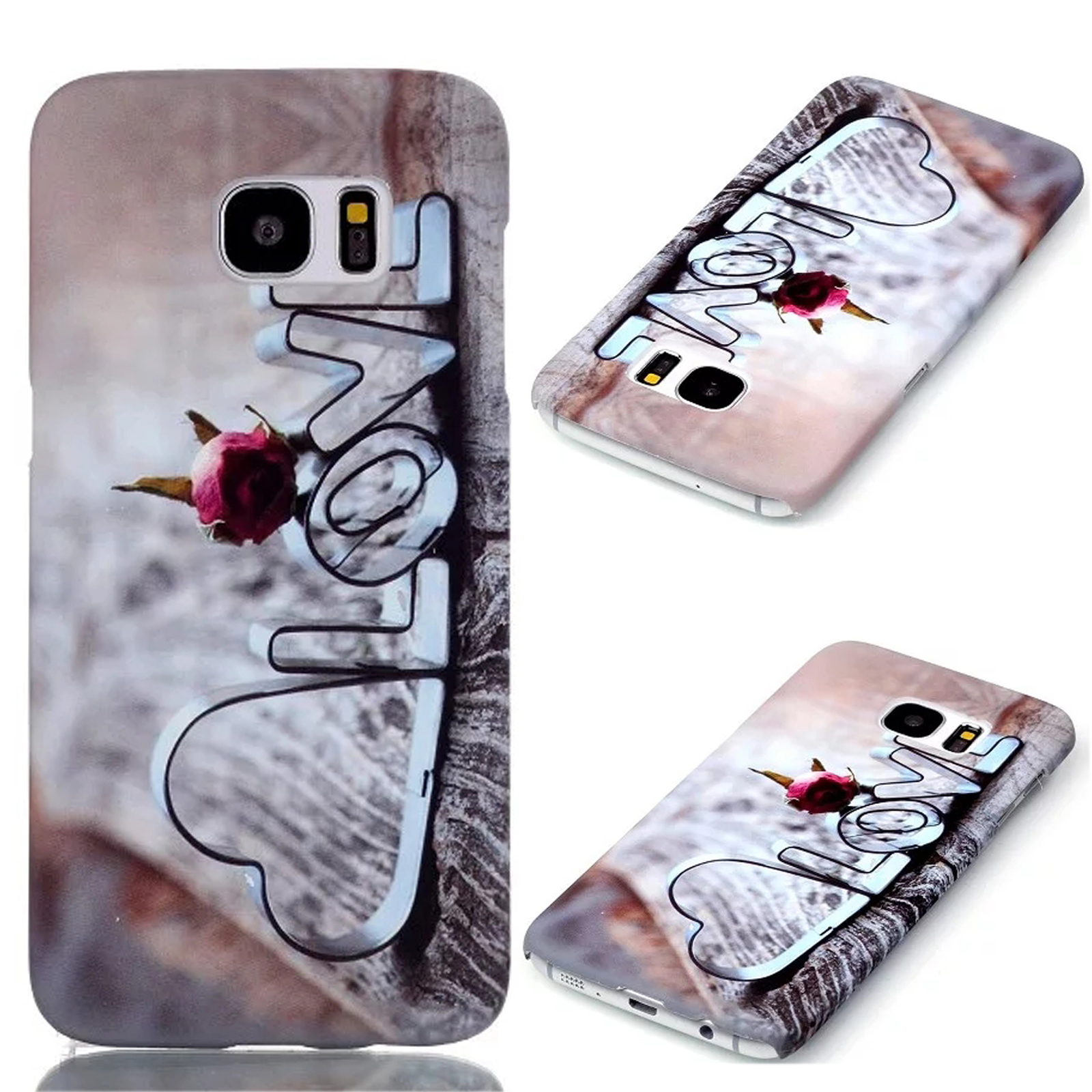 HOT Cute Pattern Hard PC Back Cover Case For Samsung