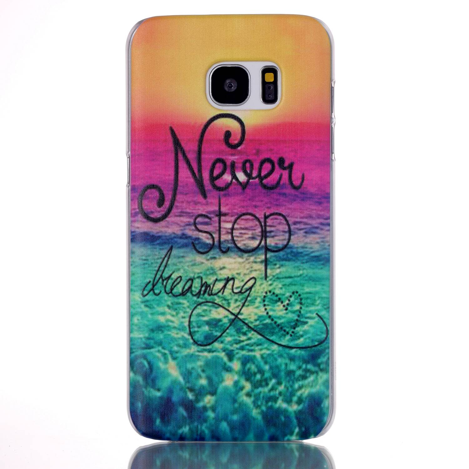 2017 fashion cute pattern design hard back cover case for