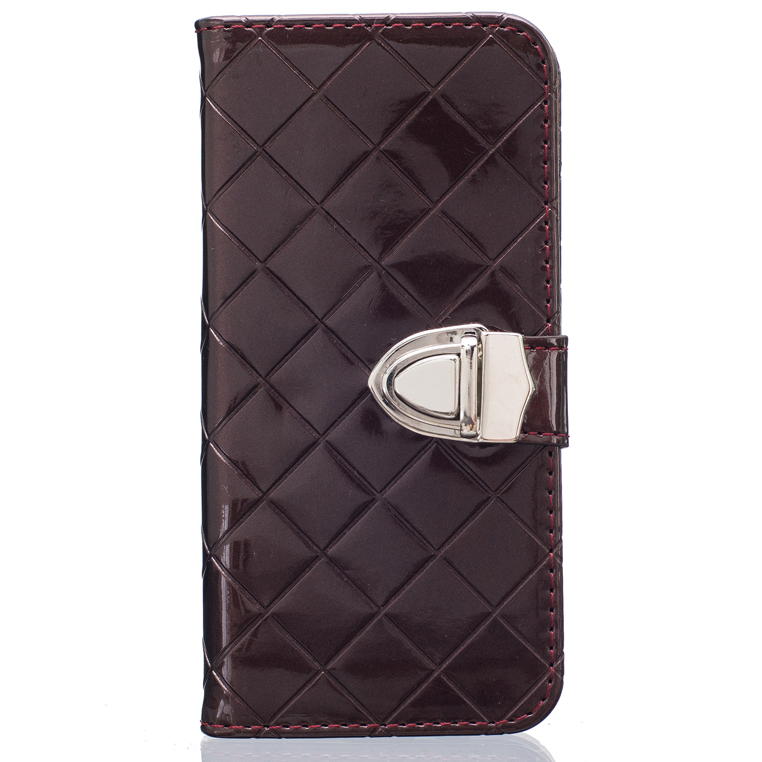 Women's Fashion Bling Magnetic Leather Case Wallet Cover ...