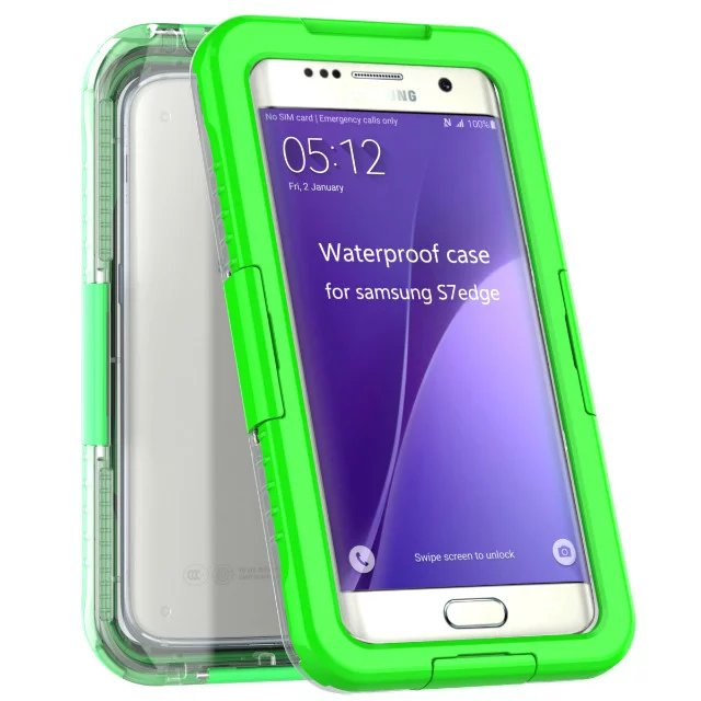 for samsung galaxy s7 edge s7 swimming waterproof shockproof phone case cover ebay. Black Bedroom Furniture Sets. Home Design Ideas