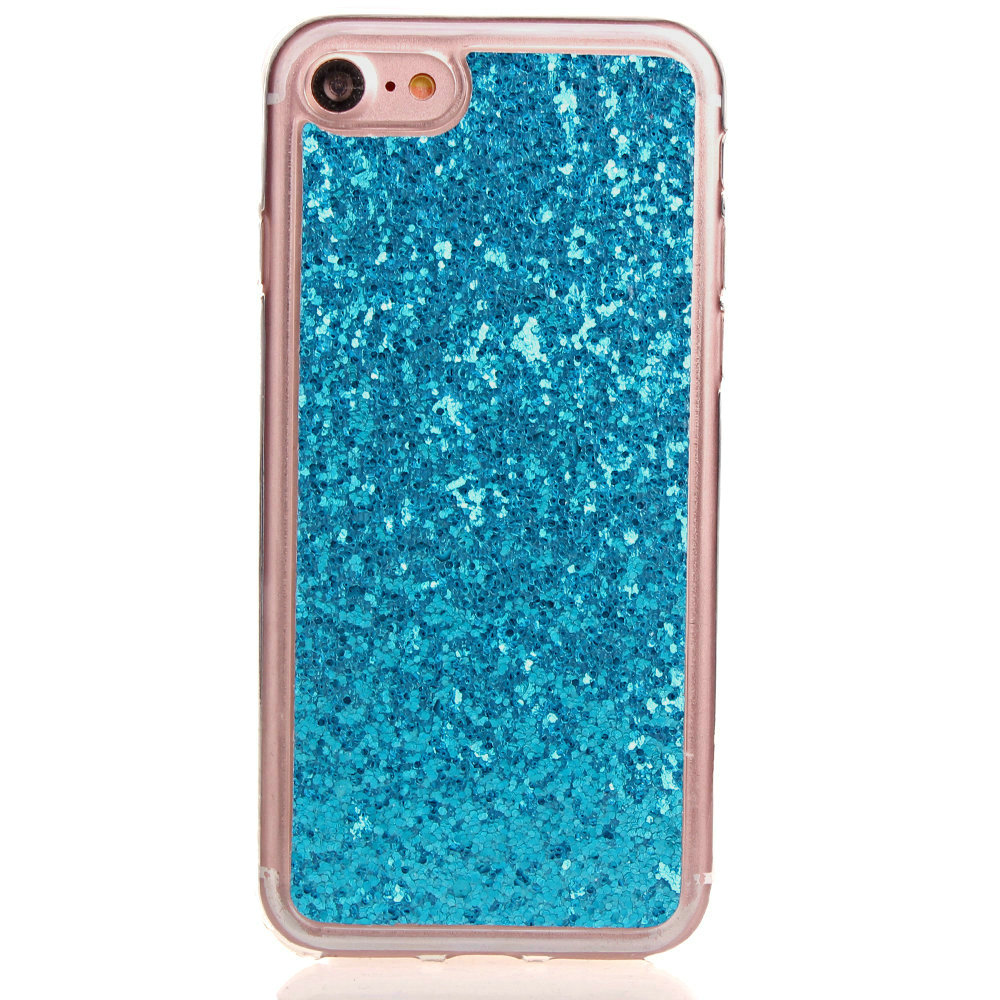 glitter iphone case for apple iphone phones fashion bling glitter rubber soft 10701