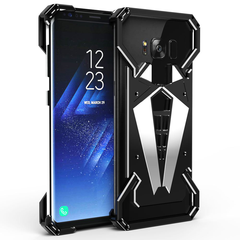 armor shockproof aluminum metal case cover for samsung galaxy note 8 s8 s9 plus ebay. Black Bedroom Furniture Sets. Home Design Ideas