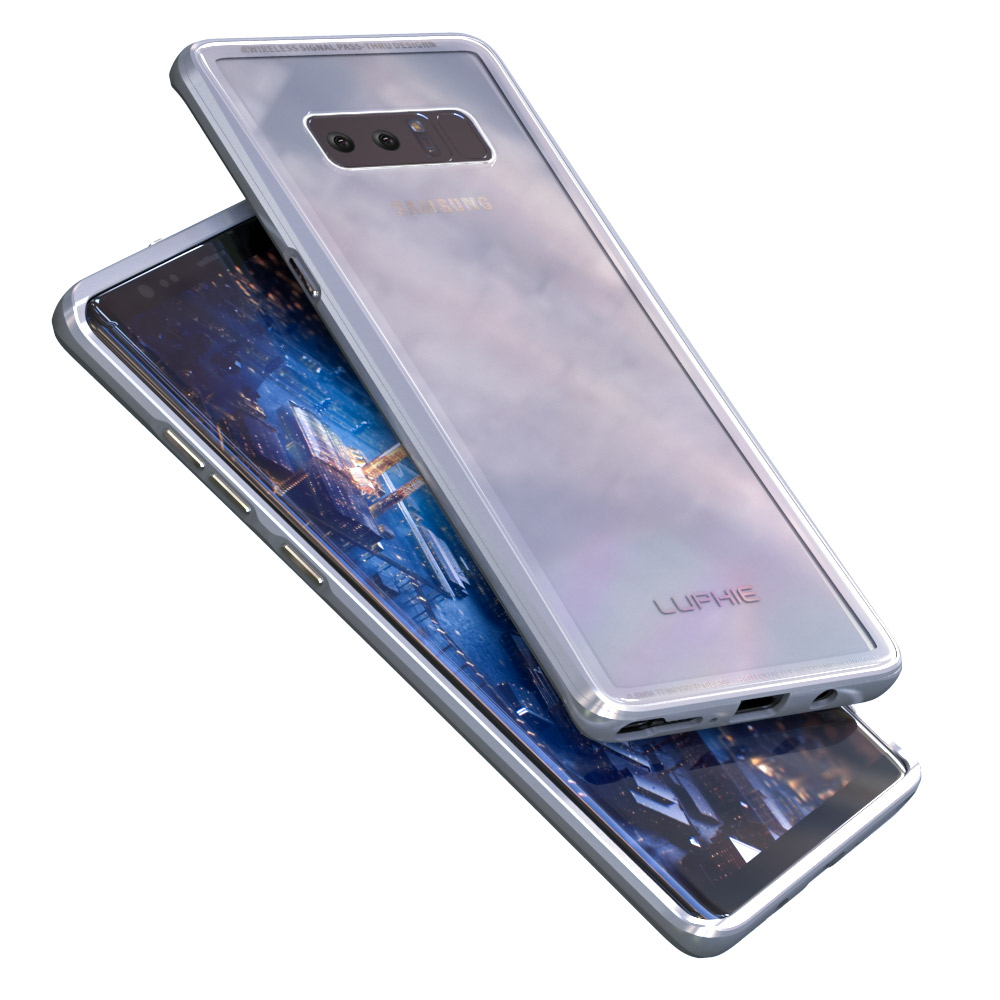 for samsung galaxy note 8 s8 luphie aluminum metal bumper. Black Bedroom Furniture Sets. Home Design Ideas