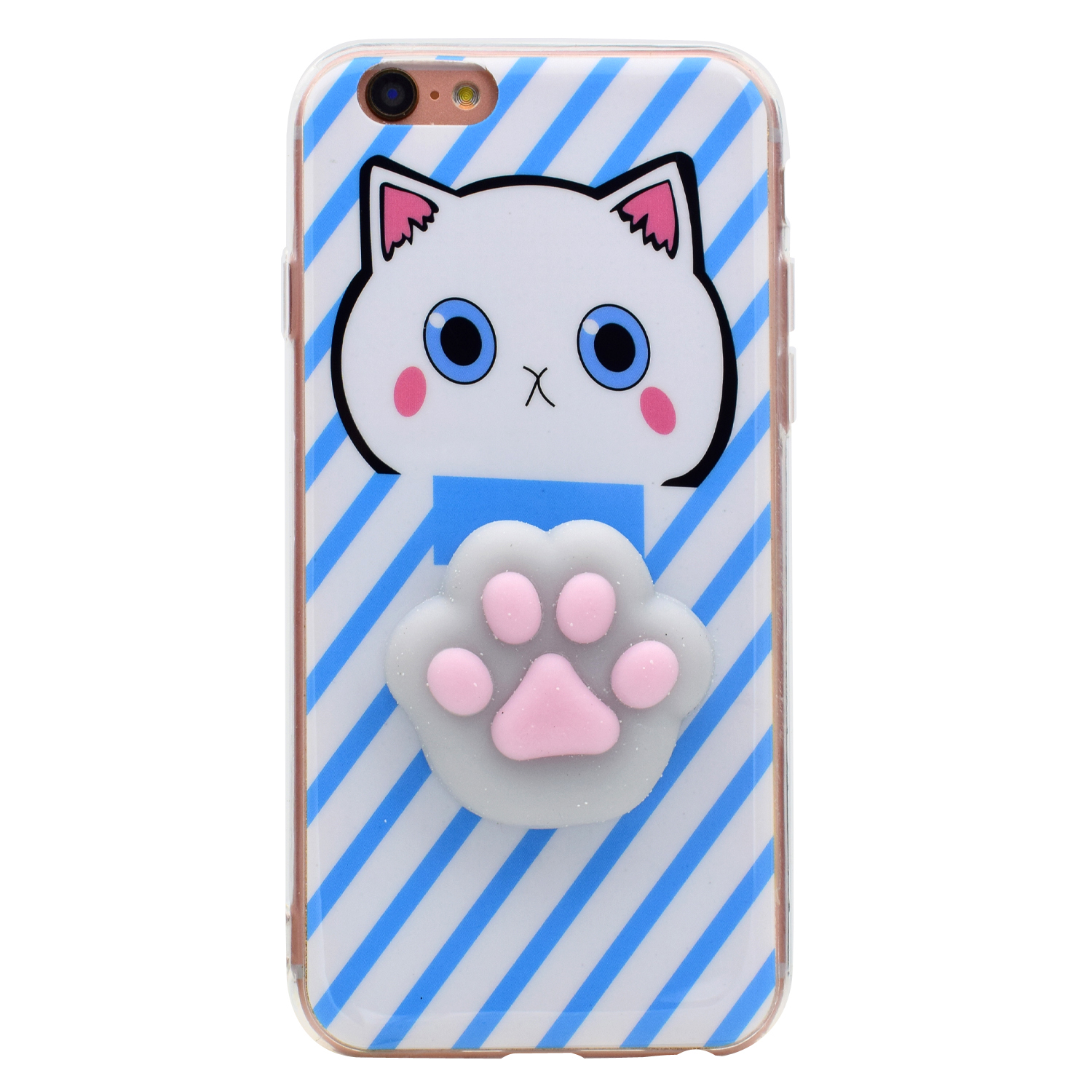 3d iphone cases luxury 3d soft silicone cat tpu phone cover 2207