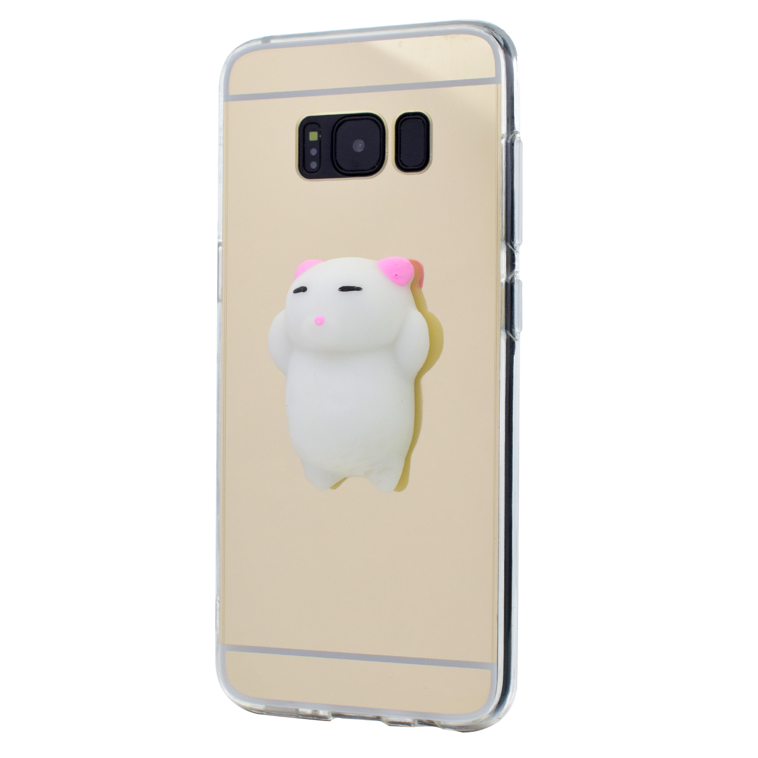 Squishy Cat For Phone Case : For Samsung Galaxy Phone Cute Squishy Cat Case Mirror Soft TPU Rubber Cover Skin eBay