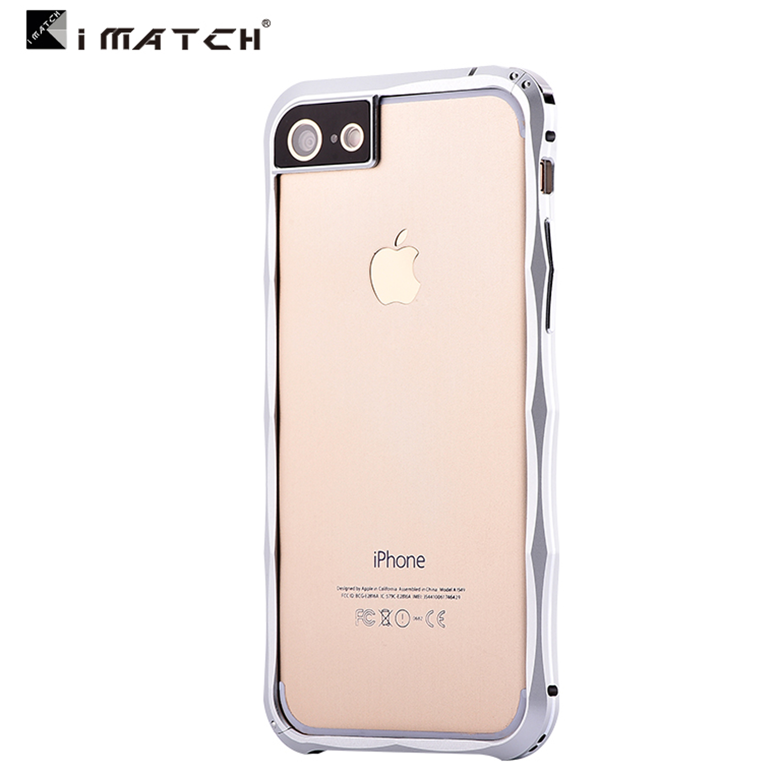 Luxury Shockproof Aluminum Metal Bumper Frame Cover Case For iPhone ...